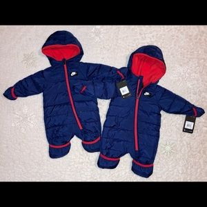 !! End~of~Winter SALE!! Nike NWT baby snowsuits